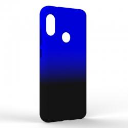 Чехол-накладка Xiaomi A2 Lite Gradient Black-Blue