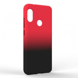 Чехол-накладка Xiaomi A2 Lite Gradient Red-Black