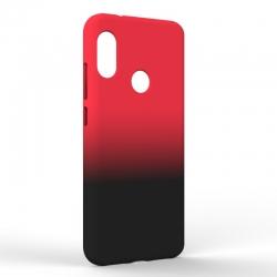 Чехол-накладка Xiaomi A2 Lite Gradient Red-Black