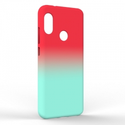 Чехол-накладка Xiaomi A2 Lite Gradient Red-Blue
