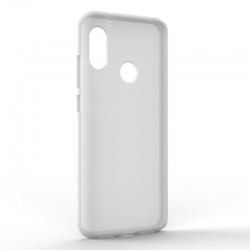 Чехол-накладка Xiaomi A2 Lite Monochromatic White