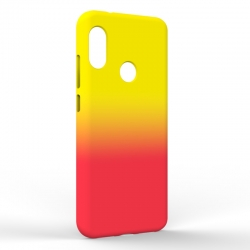 Чехол-накладка Xiaomi A2 Lite Gradient Yellow-Red
