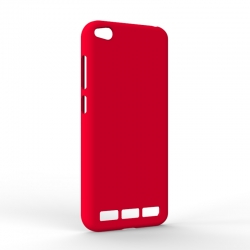 Чохол-накладка Xiaomi Redmi 5A Monochromatic Red