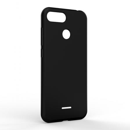 Чехол-накладка Xiaomi Redmi 6A Monochromatic Black