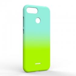Чехол-накладка Xiaomi Redmi 6A Gradient Blue-Green