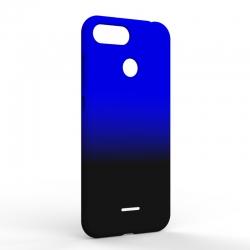 Чехол-накладка Xiaomi Redmi 6A Gradient Black-Blue
