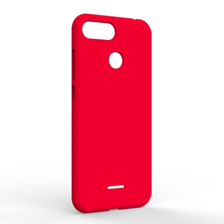Чехол-накладка Xiaomi Redmi 6A Monochromatic Red