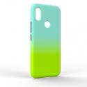 Чехол-накладка Xiaomi Redmi S2 Gradient Blue-Green