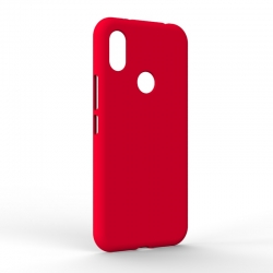 Чехол-накладка Xiaomi Redmi S2 Monochromatic Red