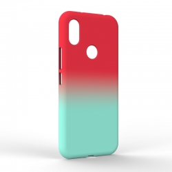 Чехол-накладка Xiaomi Redmi S2 Gradient Red-Blue