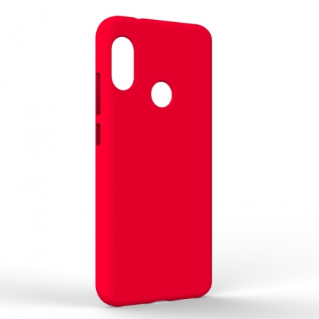 Чехол-накладка Xiaomi A2 Lite Monochromatic Red
