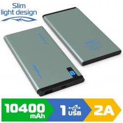 Зовнішній акумулятор VAMAX 10400mAh VMX-1822 Grey