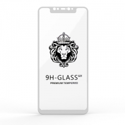 Захисне скло Glass 9H Xiaomi Mi8 Black