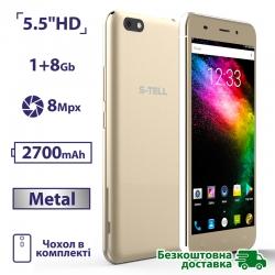 S-TELL M555i Gold