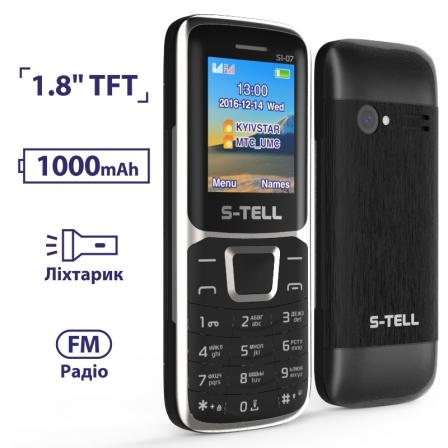 S-TELL S1-07 Black