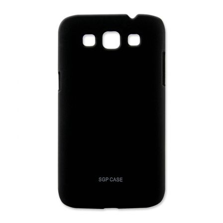 Чехол-накладка Samsung G350 black