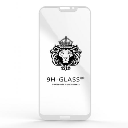 Защитное стекло Glass 9H Honor 8C White