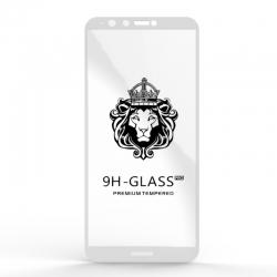 Защитное стекло Glass 9H Huawei 8 Plus White