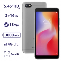Xiaomi Redmi 6A 2/16GB Gray (Asia)