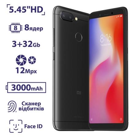 Xiaomi Redmi 6 3/32GB Black