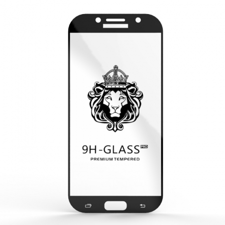 Захисне скло Glass 9H Samsung Galaxy A7 2017 Black