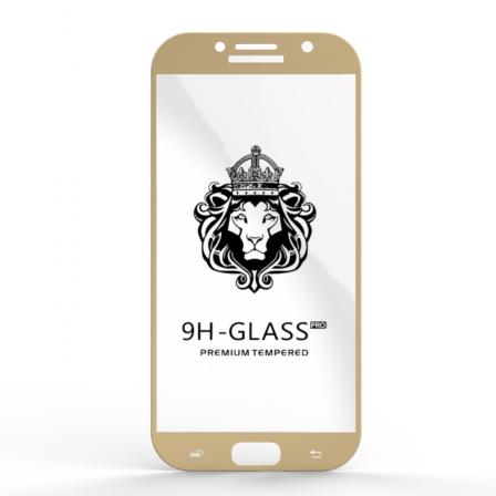 Защитное стекло Glass 9H Samsung Galaxy A7 2017 Gold