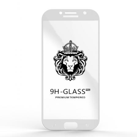 Захисне скло Glass 9H Samsung Galaxy A7 2017 White