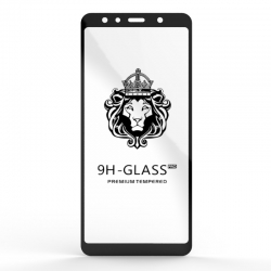 Захисне скло Glass 9H Samsung Galaxy A7 2018 Black