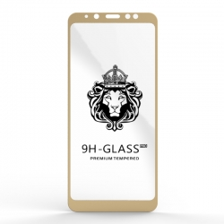 Захисне скло Glass 9H Samsung Galaxy A8 Plus Gold