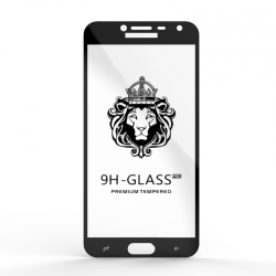 Захисне скло Glass 9H Samsung Galaxy J4 J400 Black