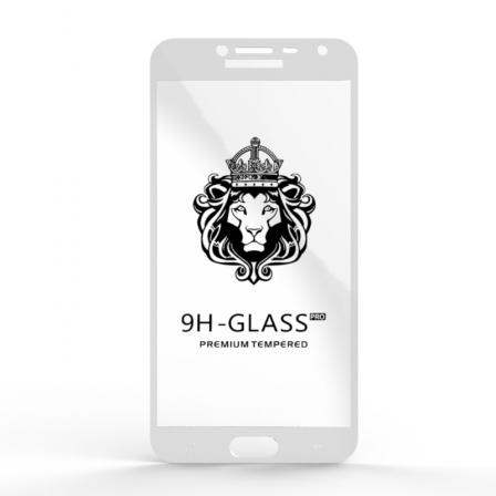Захисне скло Glass 9H Samsung Galaxy J4 J400 White