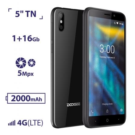 DOOGEE X50L 1/16GB Black