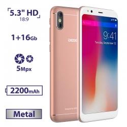 DOOGEE X53 1/16GB Pink (Уцінка)