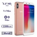 DOOGEE X53 1/16GB Pink (Уценка)