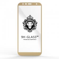 Защитное стекло Glass 9H Samsung J6 J610 Gold