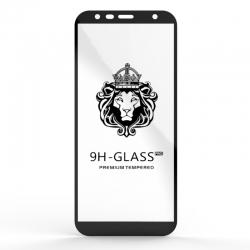 Захисне скло Glass 9H Samsung J6 J610 Black