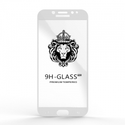 Захисне скло Glass 9H Samsung Galaxy J7 J730 White