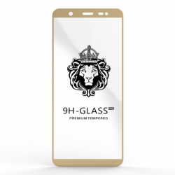 Захисне скло Glass 9H Samsung Galaxy J8 J810 Gold