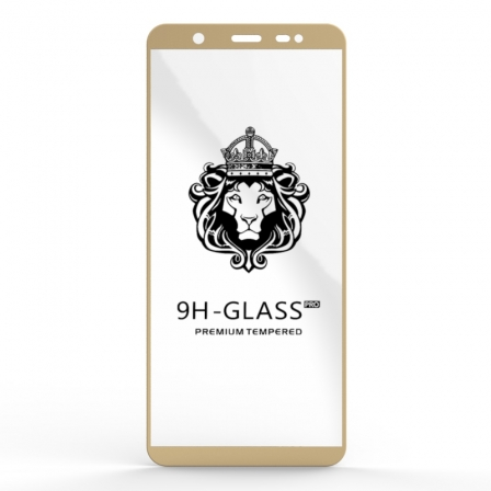 Защитное стекло Glass 9H Samsung Galaxy J8 J810 Gold