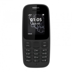 Nokia 105 Single SIM New Black (Уценка)