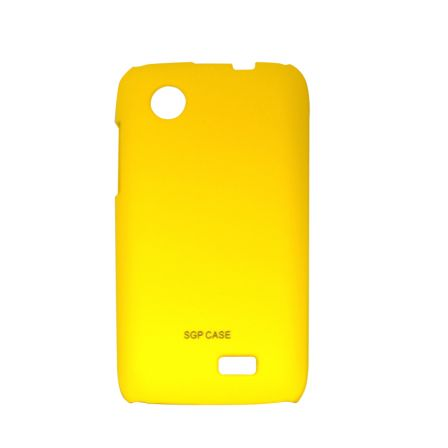 Чехол-накладка Lenovo A369 yellow