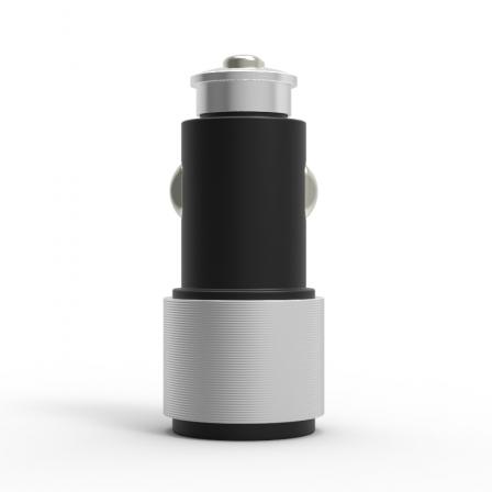 Автомобільний зарядний пристрій Carving 2.1А Black