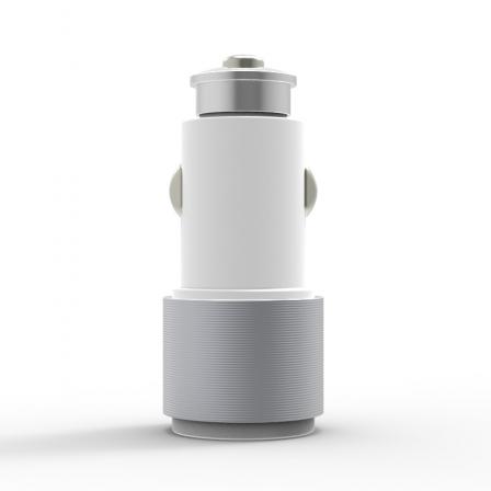 Автомобільний зарядний пристрій Carving 2.1А White