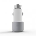 Автомобильное зарядное устройство Carving 2.1А White