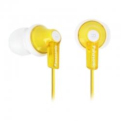 Наушники Panasonic RP-HJE118GU-K Yellow