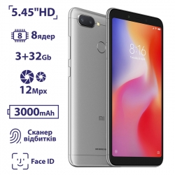 Xiaomi Redmi 6 3/32GB Asia Gray