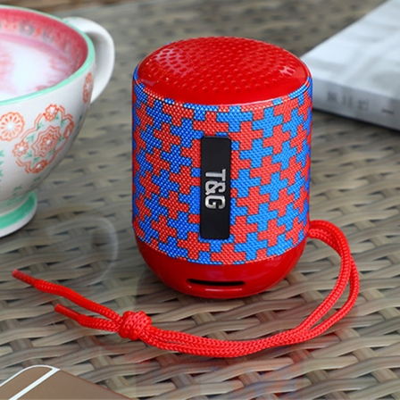 Портативна Bluetooth-колонка TG-129 Red Pattern