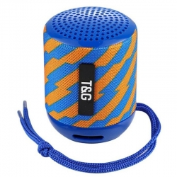 Портативна Bluetooth-колонка TG-129 Blue Pattern