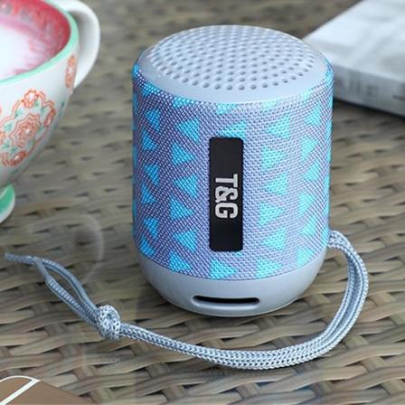 Портативная Bluetooth-колонка TG-129 Gray Pattern