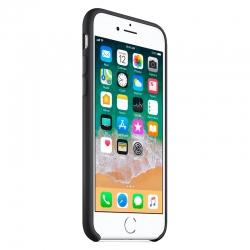 Чехол-накладка Silicone case iPhone 8 Black